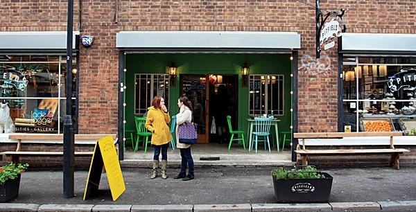 東倫敦古董雜貨咖啡店