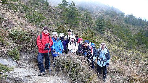 20081213-合歡山Day2-2 (合歡北峰) 2