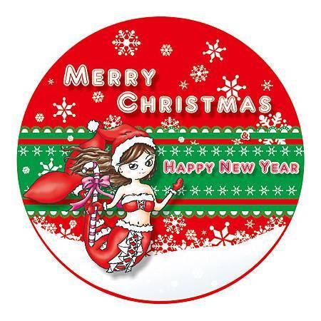 2012聖誕&新年快樂 紀念明信片
