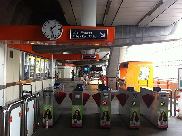 BTS Phaya Thai 入口閘門
