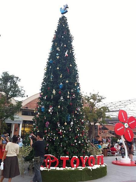 碼頭聖誕樹