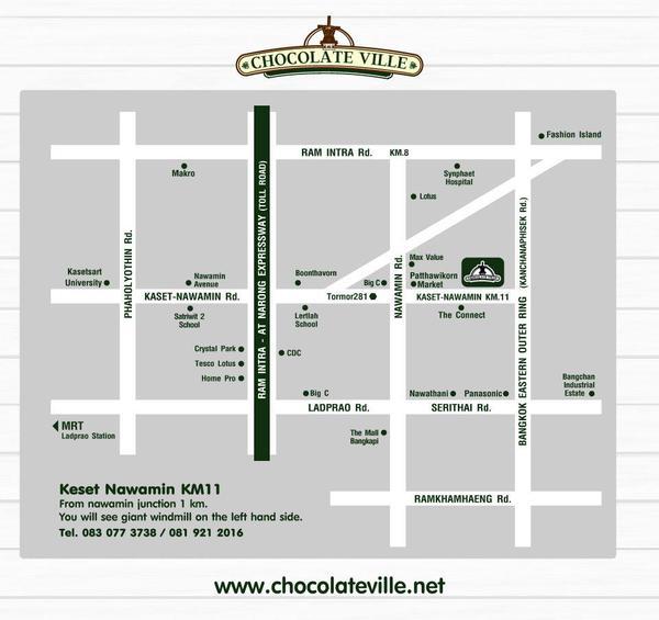 Chocolate Ville地圖