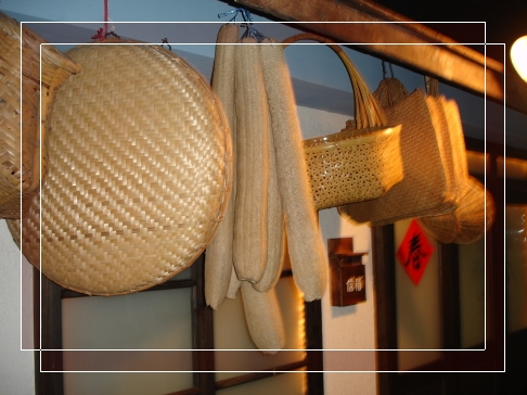 竹編物一串