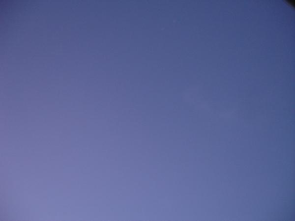 NZ的湛藍天空