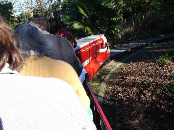 搭小火車in公園