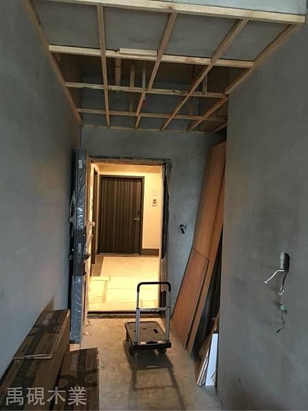 新竹系統家具.木工裝潢日常監工-天花板木作