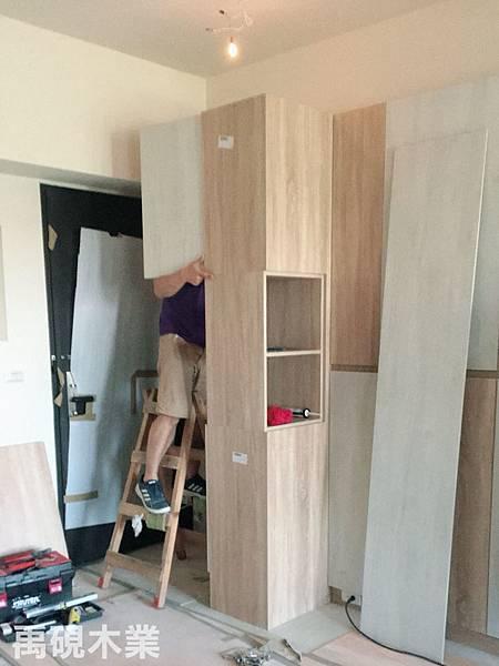 新竹系統家具,系統櫃安裝照