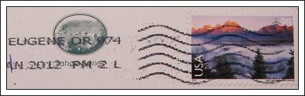 收到的明信片NO.37-Stamp