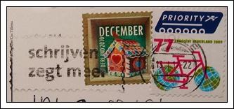 收到的明信片NO.39-Stamp