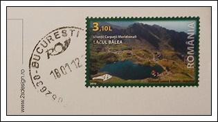 收到的明信片NO.40-Stamp