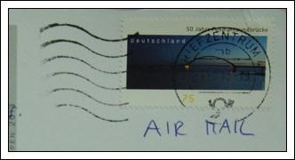 收到的明信片NO.56-Stamp