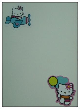 收到的明信片NO.57-可愛小貼紙