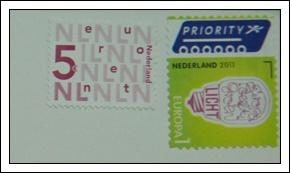收到的明信片NO.66-Stamp