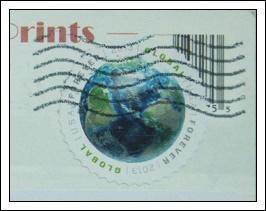 收到的明信片NO.68-Stamp