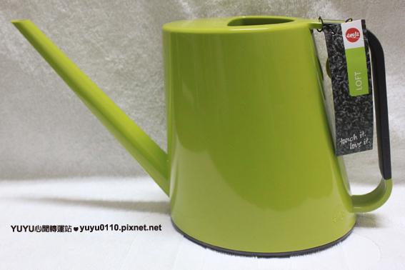 LOFT底部防滑澆花器-綠1