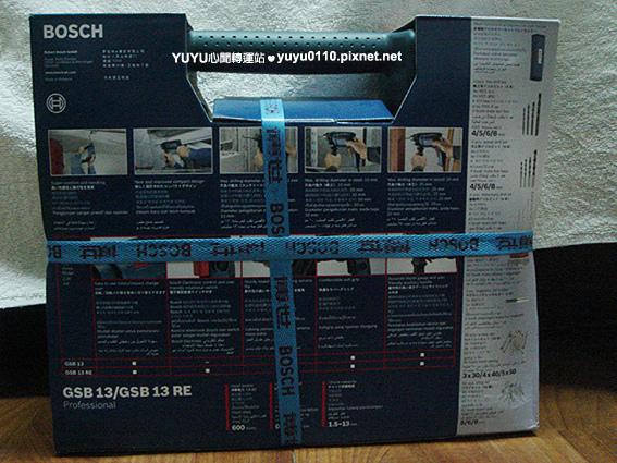 BOSCH GSB13RE VP四分震動電鑽組(含100pcs配件)2