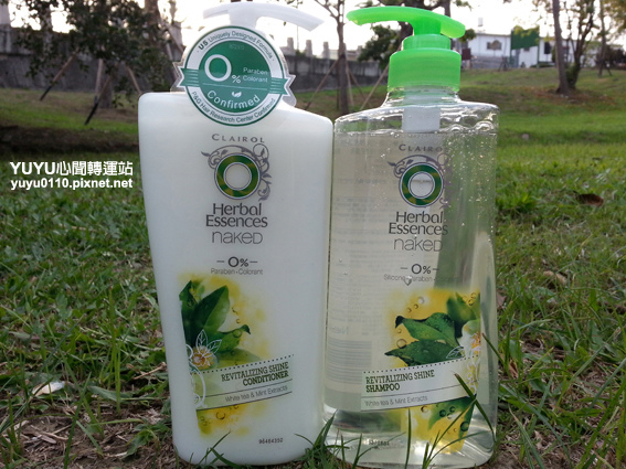 Herbal Essences白茶薄荷光澤柔亮系列-無矽靈洗潤髮精1
