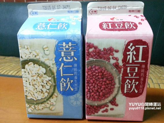 光泉薏仁飲+光泉紅豆飲1