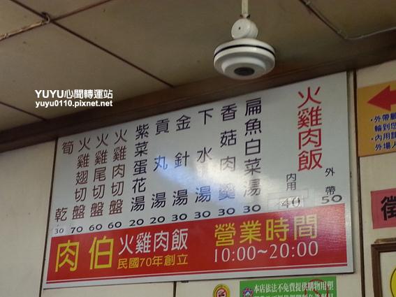 【台南‧中西區】肉伯火雞肉飯3