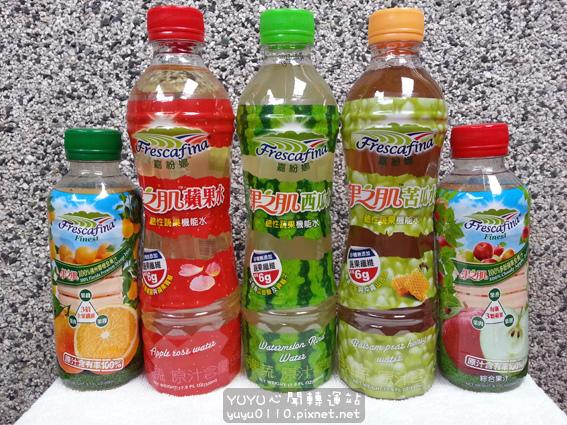 嘉紛娜果之肌鹼性蔬果機能水、全果汁1
