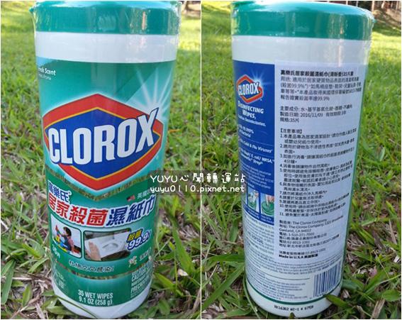 美國CLOROX-高樂氏居家殺菌濕紙巾5