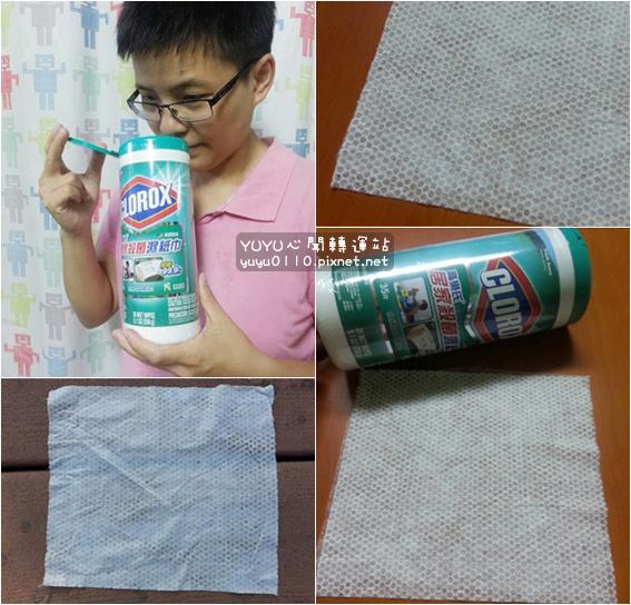 美國CLOROX-高樂氏居家殺菌濕紙巾12