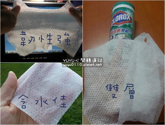 美國CLOROX-高樂氏居家殺菌濕紙巾13