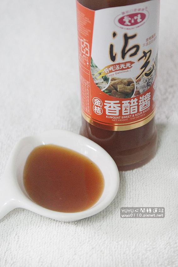 愛之味沾光金桔香醋醬1