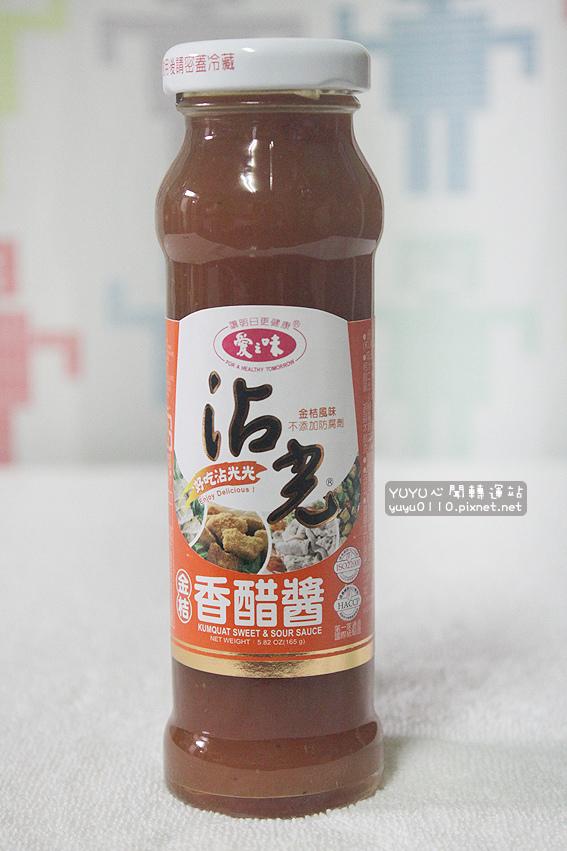 愛之味沾光金桔香醋醬2