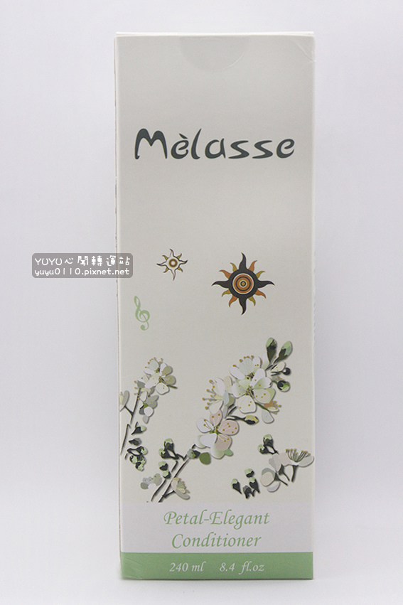Mélasse 花園系列 李花 免沖洗輕盈感潤髮乳1