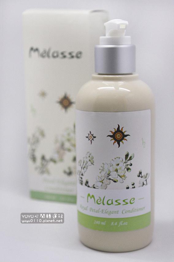 Mélasse 花園系列 李花 免沖洗輕盈感潤髮乳5
