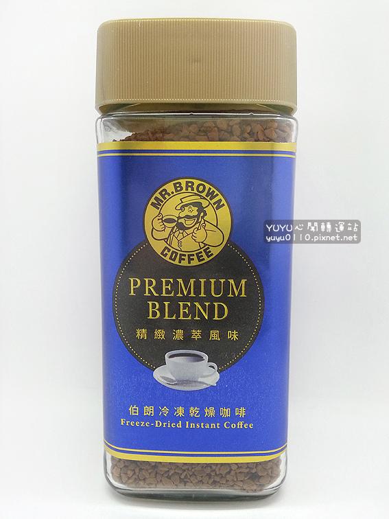 伯朗冷凍乾燥咖啡-精緻濃萃風味1