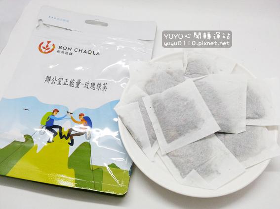 台灣茶人-辦公室正能量-玫瑰綠茶9