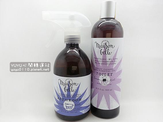 Maison Belle美生貝樂-植萃精油馬桶+浴室清潔劑1