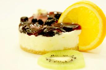 藍莓起司慕斯蛋糕