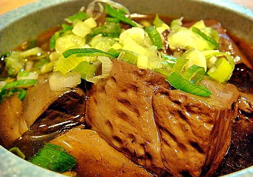東東傳統麵食-麻辣鴨血-a
