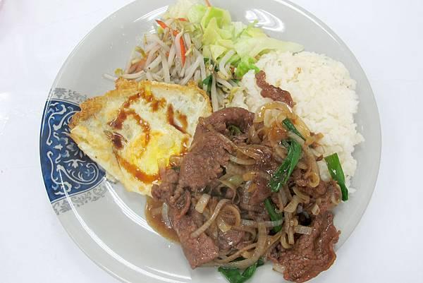 珍香園-蔥爆牛肉飯2-a