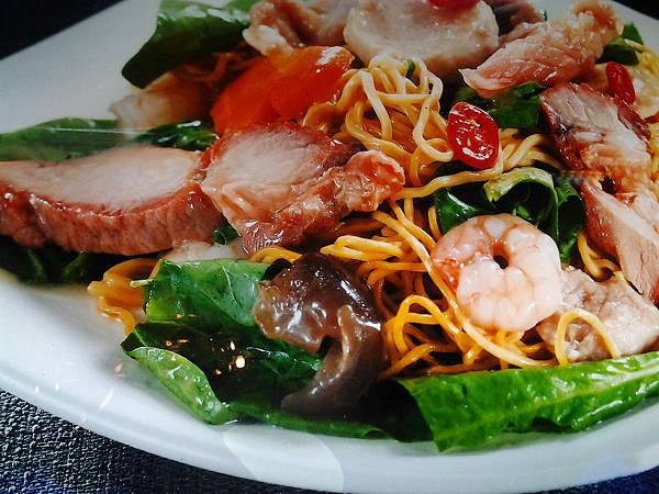 龍華燒臘  (6)-廣州什錦脆炒麵