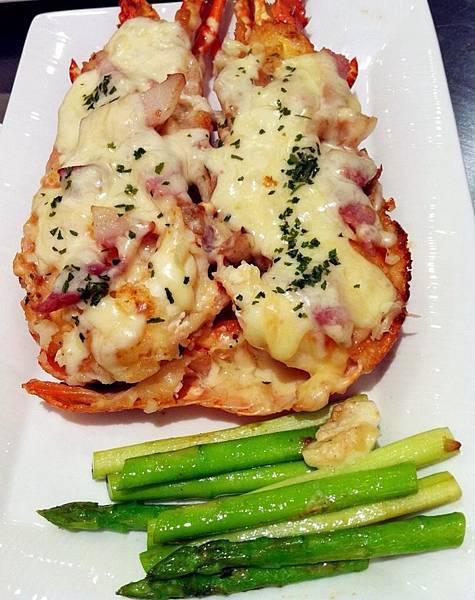 軒妮士鐵板燒-鮮焗龍蝦