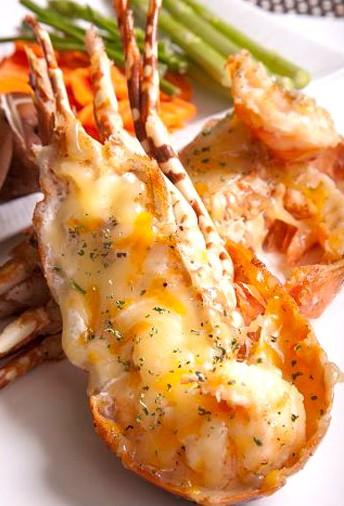 軒妮士鐵板燒-鮮焗龍蝦2