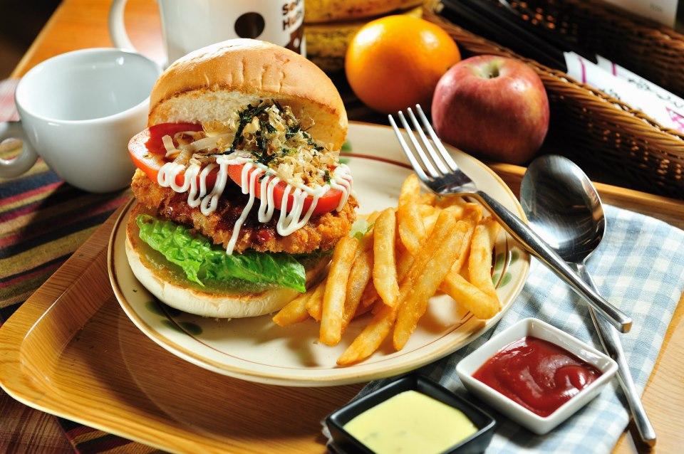 蹺蹺板小屋-日式豬排漢堡