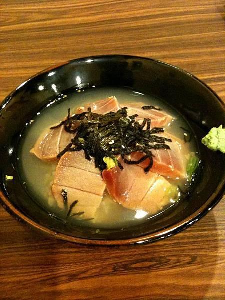 狩の居食屋-生魚片茶泡飯