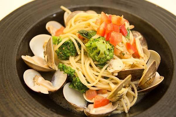 麻辣蛤蜊義大利麵1