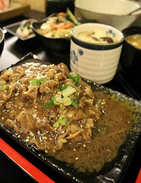 薑汁牛肉定食