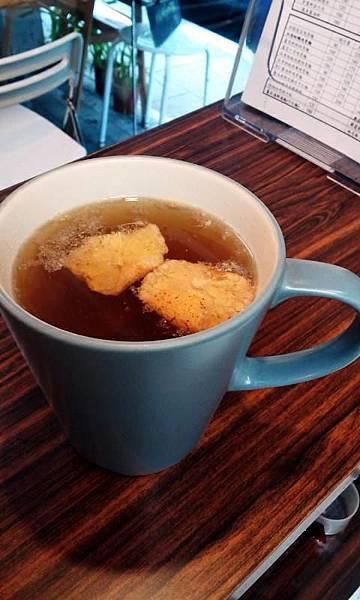 黑糖橘香茶45元
