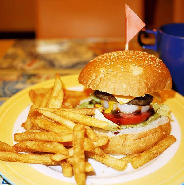 吉里開心廚房-小朋友漢堡