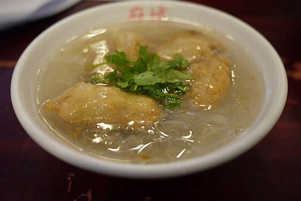 土魠魚羹湯
