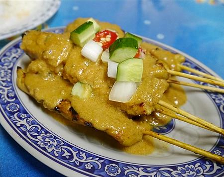 泰國小館-沙嗲雞肉