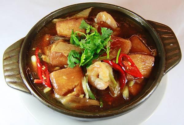 順園小館 - 砂鍋三鮮豆腐煲