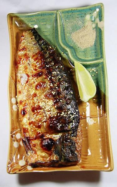 夯店碳烤酒鋪 - 烤鯖魚